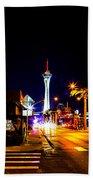 Ca Vegas Beach Towel