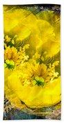 Cactus Flower Beach Towel