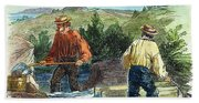 California Gold Rush Beach Towel