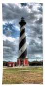 Cape Hatteras Lighthouse, Buxton, North Carolina Beach Towel