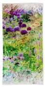Castle Gardens Beach Towel