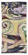 Celtic Layers Beach Towel