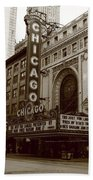 Chicago Theater Beach Towel