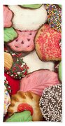 Christmas Cookies Beach Towel