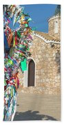 Church Of Profitis Elias - Cyprus Beach Towel