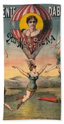 Circus Poster, C1890 Beach Towel