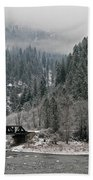 Clearwater River Beach Towel