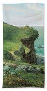 Cliffs Of Greville Beach Towel