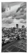 Clouds Over Havana Beach Towel