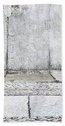 Concrete Background Beach Towel