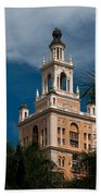 Coral Gables Biltmore Hotel Tower Beach Towel