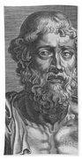 Demosthenes, Ancient Greek Orator Beach Towel
