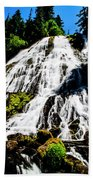 Diamond Creek Falls Beach Towel
