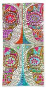 Dod Art 123 Beach Towel