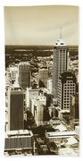 Downtown Indianapolis Beach Towel
