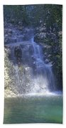 Dripping Springs Falls Beach Towel