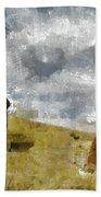 Easter Island Beach Towel