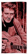 Eddie Cochran Collection Beach Towel