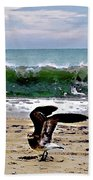 Expecting To Fly Beach Towel