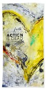 Faith Without Action Is Dead Beach Towel