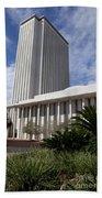 Florida State Capitol Building Beach Towel