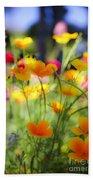 Flowering Garden Beach Towel