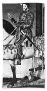 Francis I (1494-1547) Beach Towel