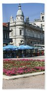 Freedom Square, Ruse, Bulgaria Beach Towel