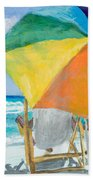 Beach Umbrella By Marilyn Nolan-johnson Beach Towel