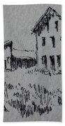 Garnet Ghost Town Montana Beach Towel