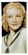 Ginger Rogers, Legend Beach Towel