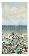 Gordon Beach, Tel Aviv, Israel Beach Towel