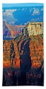 Grand Canyon National Park - Sunset On North Rim  Beach Towel