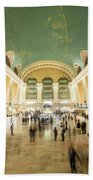 Grand Central Terminal Beach Towel