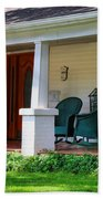 Grand Old House Porch Beach Towel