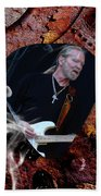 Gregg Allman Art Beach Towel