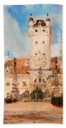 Greillenstein Castle Beach Towel