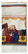 Heidelberg Lieder, 14th C Beach Towel