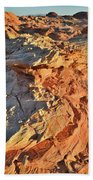 High Above Wash 3 In Valley Of Fire Beach Towel