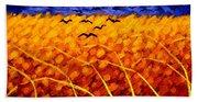 Homage To Van Gogh Beach Towel