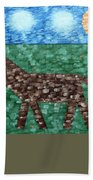 Horse Beach Towel by Patrick J Murphy
