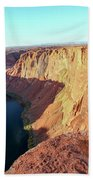 Horseshoe Bend Colorado River Arizona Usa Beach Towel