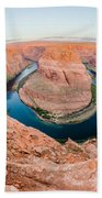 Horseshoe Bend Near Page Arizona Beach Towel