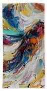 Hummingbird Dance  Beach Towel