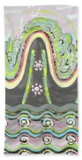 Ilwolobongdo Abstract Landscape Painting2 Beach Towel