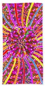 Infinity Star Flower An Abstract Fineart Expression By Navinjoshi At Fineartamerica.com Colorful Spe Beach Towel