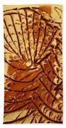 Jesus Christ - Tile Beach Towel