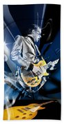 Joe Bonamassa Blues Guitarist Art Beach Towel