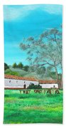 La Purisima Mission Beach Towel