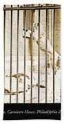 Lion Cage, Carnivore House, Philadelphia Zoo, C. 1900 Beach Sheet